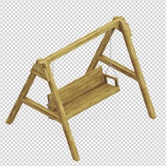Isometrische kinderen speelplaats