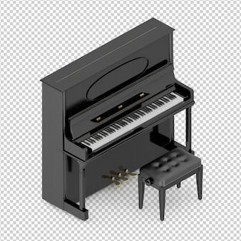 Isometrische klassieke piano