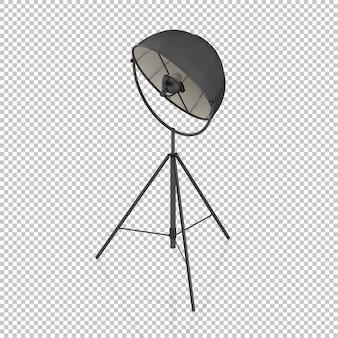Isometrische lamp