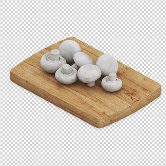 Isometrische paddestoelen