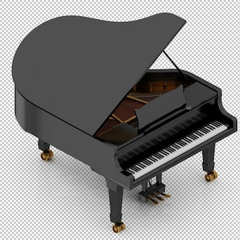 Isometrische piano