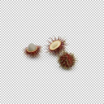 Isometrische rambutan