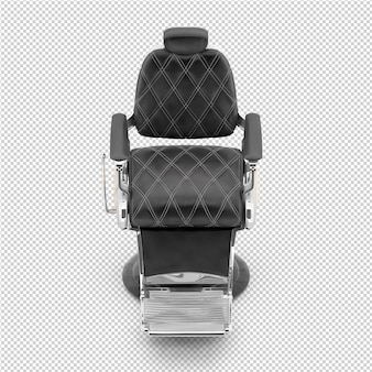 Isometrische schoonheid accessoires 3d geïsoleerd render