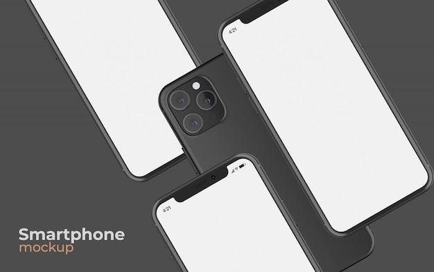Isometrische smartphone mockup