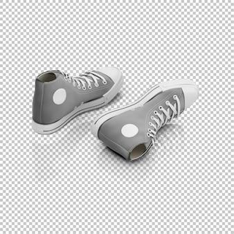 Isometrische sneakers