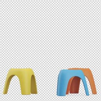 Isometrische stoel