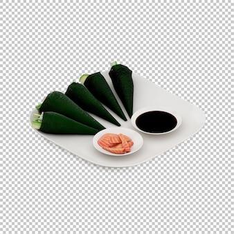 Isometrische sushi