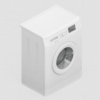Isometrische wasmachine