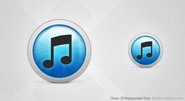 Itunes 10 vervanging icoon