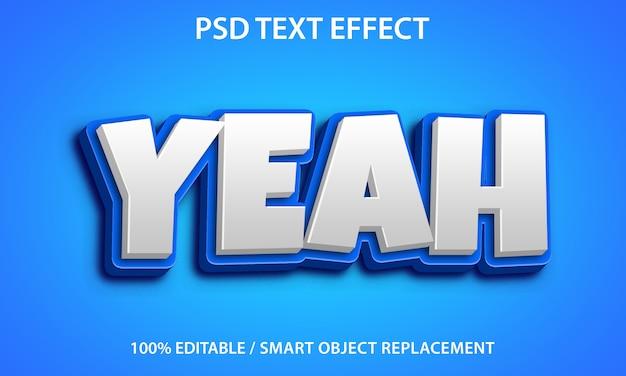 Ja teksteffect