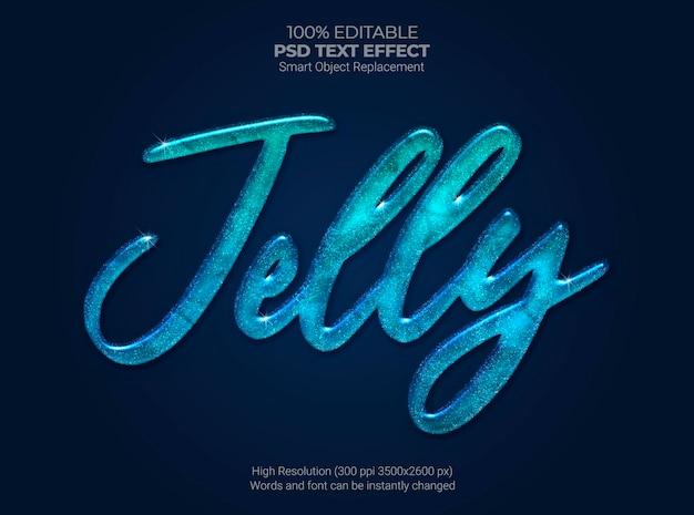 Jelly-teksteffect