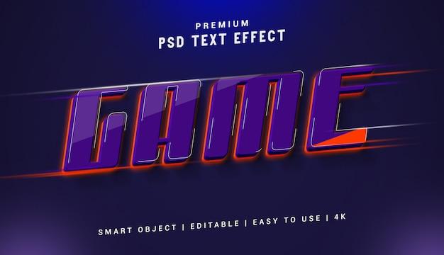 Juego premium generador de efectos de texto