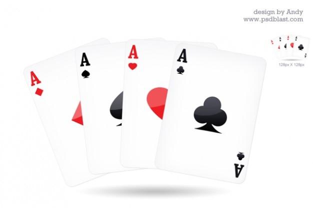 Jugando icono de la tarjeta
