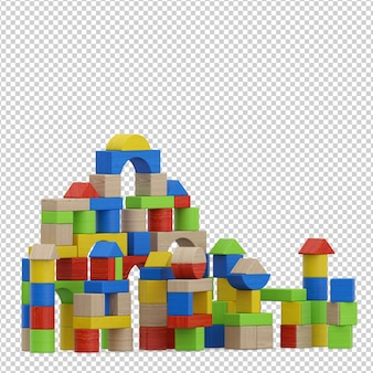 Juguete isometrico para niños
