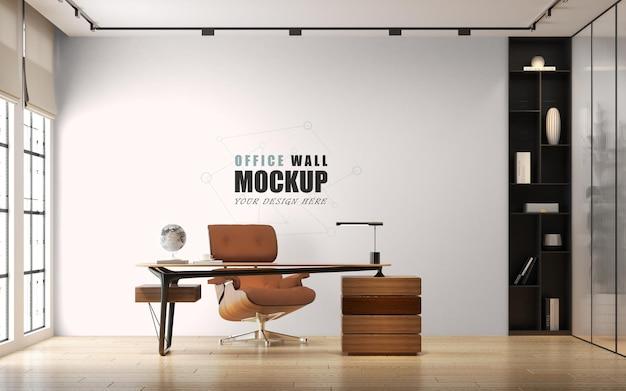 Kantoorontwerp in moderne stijl wandmodel