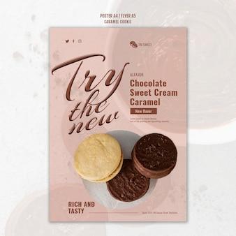 Karamel koekjes poster