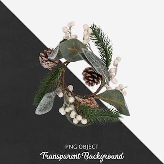 Kerst bloem op transparant