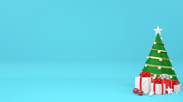 Kerst commerciële mockup winkelen verkoop concept Premium Psd
