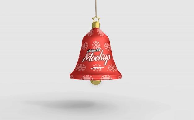 Kerstbel mockup