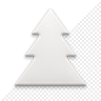Kerstboom 3d-pictogram