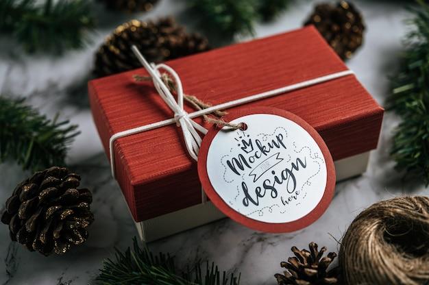 Kerstcadeau-tag