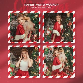 Kerstpapier fotomodel