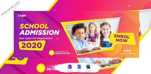 Kid school toelating facebook tijdlijn cover