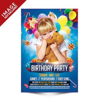 Kinderen verjaardagsfeestje
