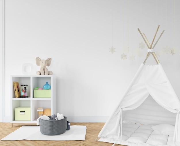 Kinderkamer met wit tipi