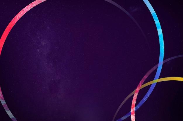Kleurrijke frame sjabloon achtergrond