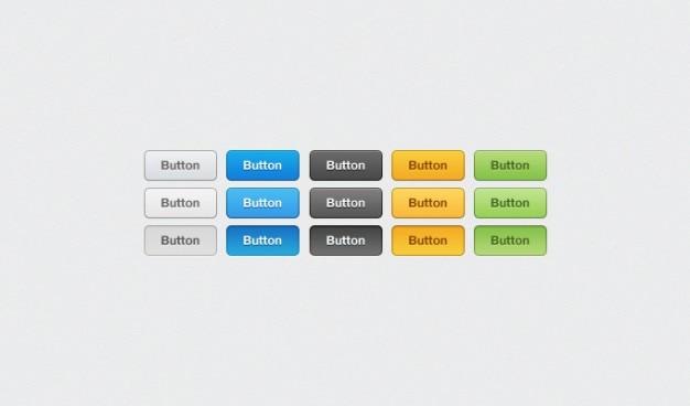 Knop kleuren downloaden grijs login oranje psd te dienen web