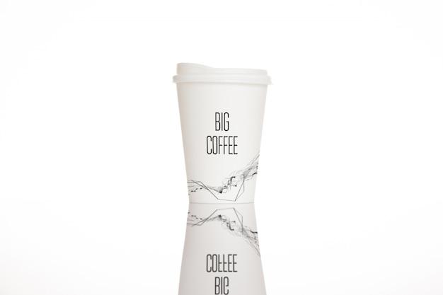 Koffiekopje mock-up