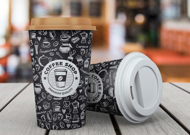 Koffiekopje mockup