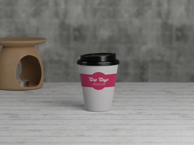 Koffiekopjes mockup Premium Psd