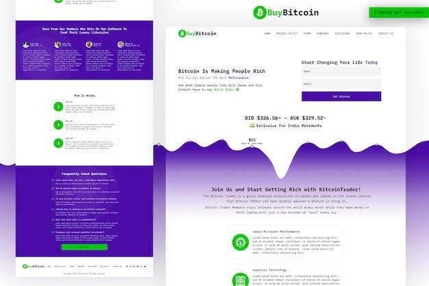 Koop bitcoin website-pagina