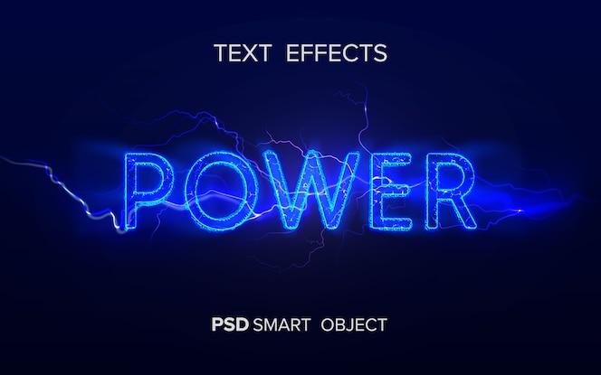 Krachtig teksteffect slim object