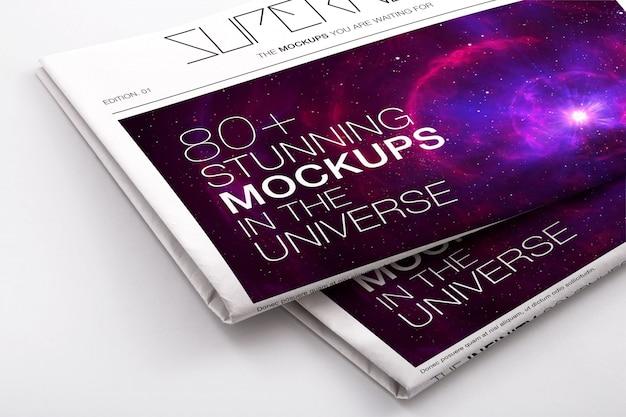 Krant mock up design