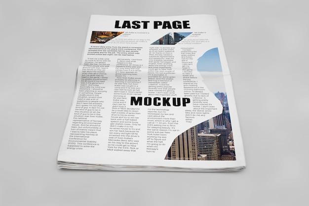 Krantenmockup