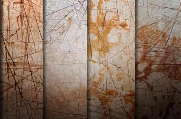Krassen texturen