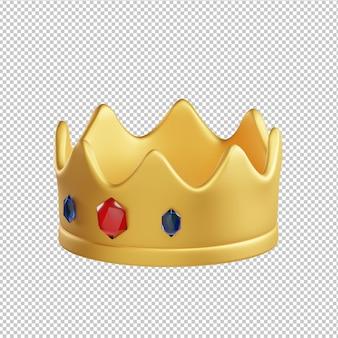 Kroon 3d illustratie