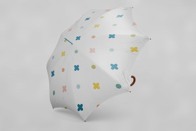 L'ombrellone multicolore si risolleva