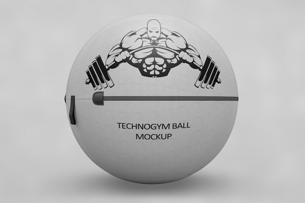 La palla sportiva si imbacca