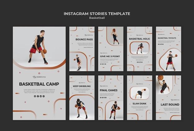 La pallacanestro è la mia passione per le storie su instagram
