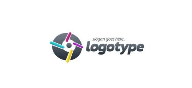 La tecnologia logo template vettoriale