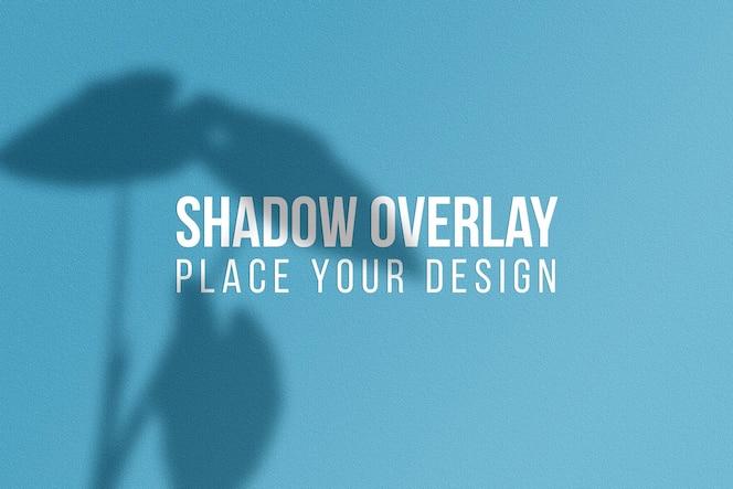 Laat schaduwen overlay effect transparant concept