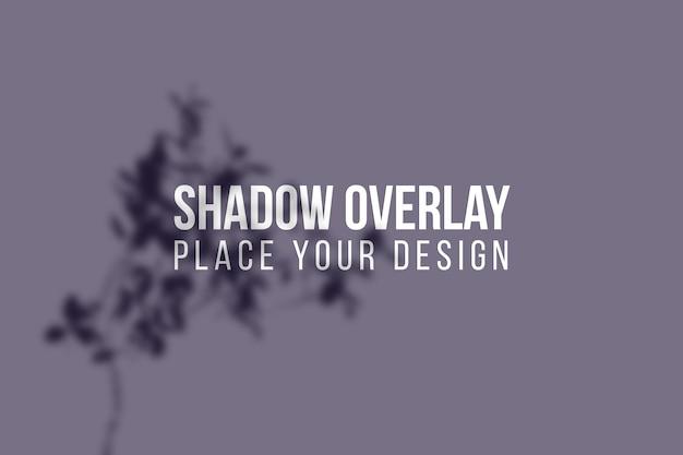 Laat schaduwen overlay en vensterschaduwen overlay effect transparant concept