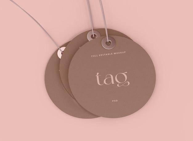 Labeltag-model. verkoop concept