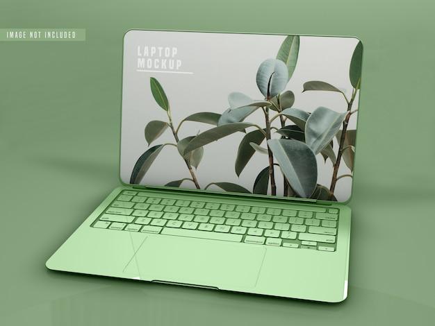 Laptop mockup ontwerp