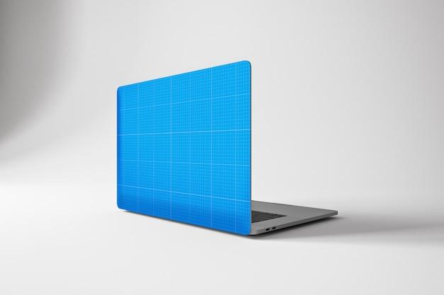 Laptop pro skin mockup