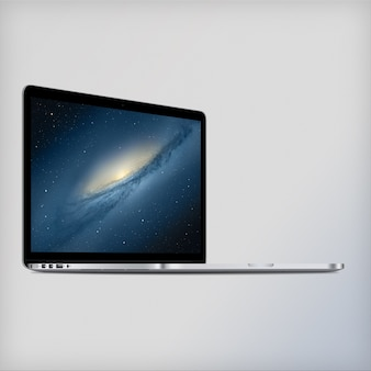 Laptop scherm mock up